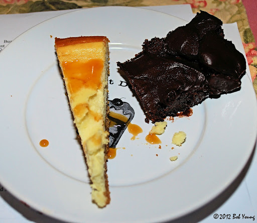 Cheesecake Stuffed Dark Chocolate Cake Recipe