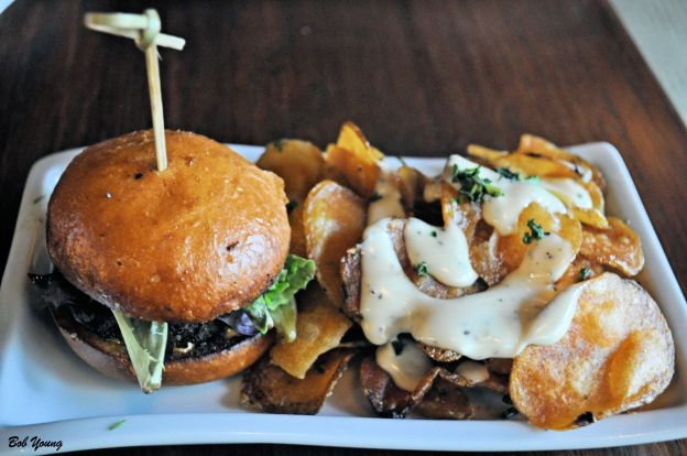 Kobe Beef Slider with House Made Chips