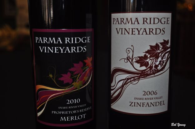 Parma Ridge wines. Drink these slow. The winery is no longer operating and is for sale.