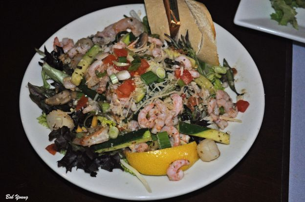 Hot and Cold Seafood Salad