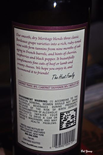 A little explanation of a Meritage wine.
