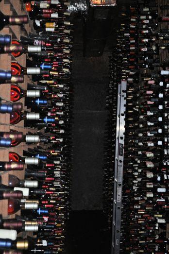 Part of the cellar at Bern's.