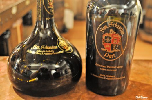 They do offer a fortified wine (port) and they are pretty good. We had to drive so we could not imbibe to any extent.