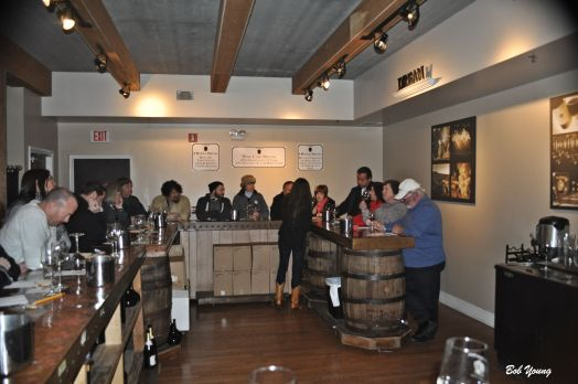 The tasting room at San Sebastian Winery in St Augustine, FL.