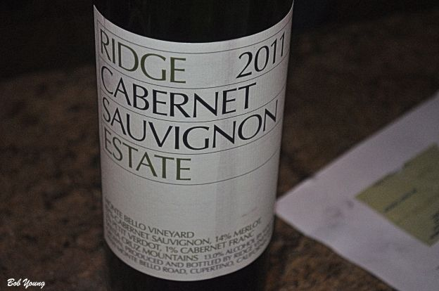 Not the best, but not the worse wine of the night. This one needs to be laid down for several years. It is big and high alcohol. It over powered the foods we had. It needs time. [18] $48.00