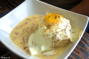 Best Ever Biscuits and Gravy with a Fried Egg - $6.95