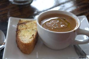 Creamy Mushroom Soup (Vegetarian)