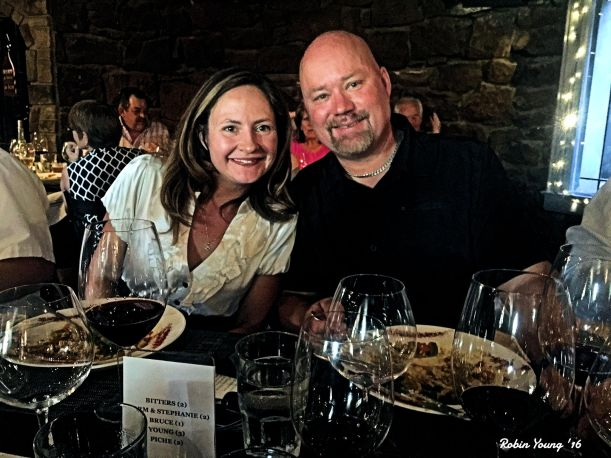 Stephanie and Chef Storm Hodges. Ownrs/Winemakers of Parma Ridge Winery.