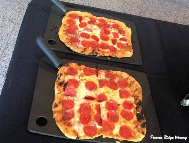 Pepperoni Flatbreads