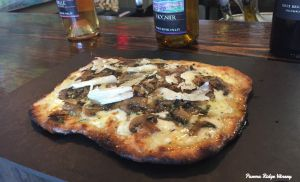Happy Hour Fungi Flatbread